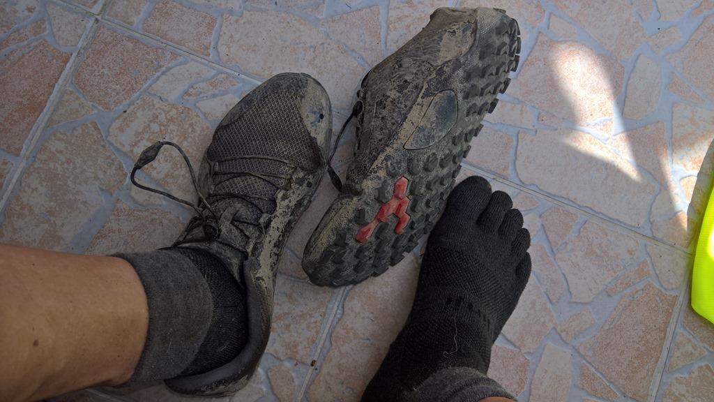 Erste Eindrücke mit dem Vivobarefoot Primus Trail Men