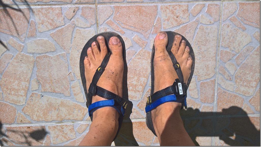 Luna Sandals–Erste Erfahrungen
