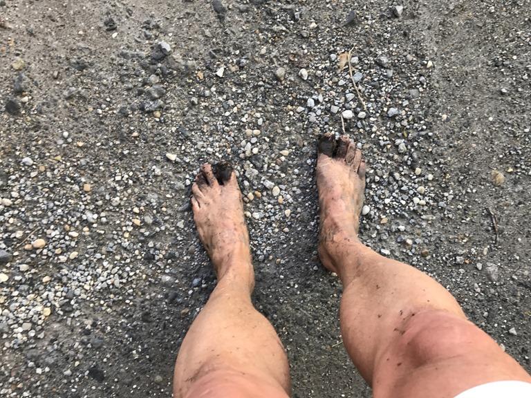 Barfuß Laufen
